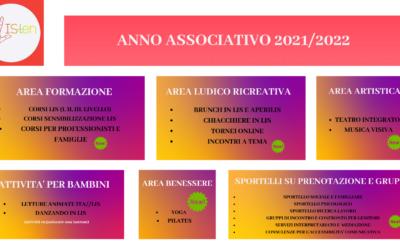 LE ATTIVITA' DI LISten- anno associativo 2021/22